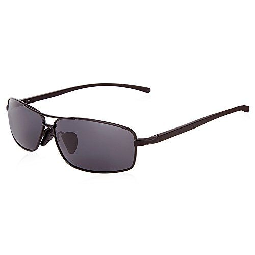 FLY-blue Ultra Lightweight Rectangular Polarized Sunglasses 100/% UV Protection
