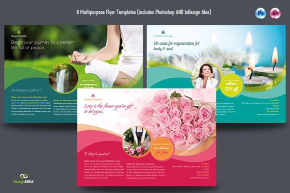 6 Multipurpose Flyer @creativework247 | Flyer Templates - Flyers ...