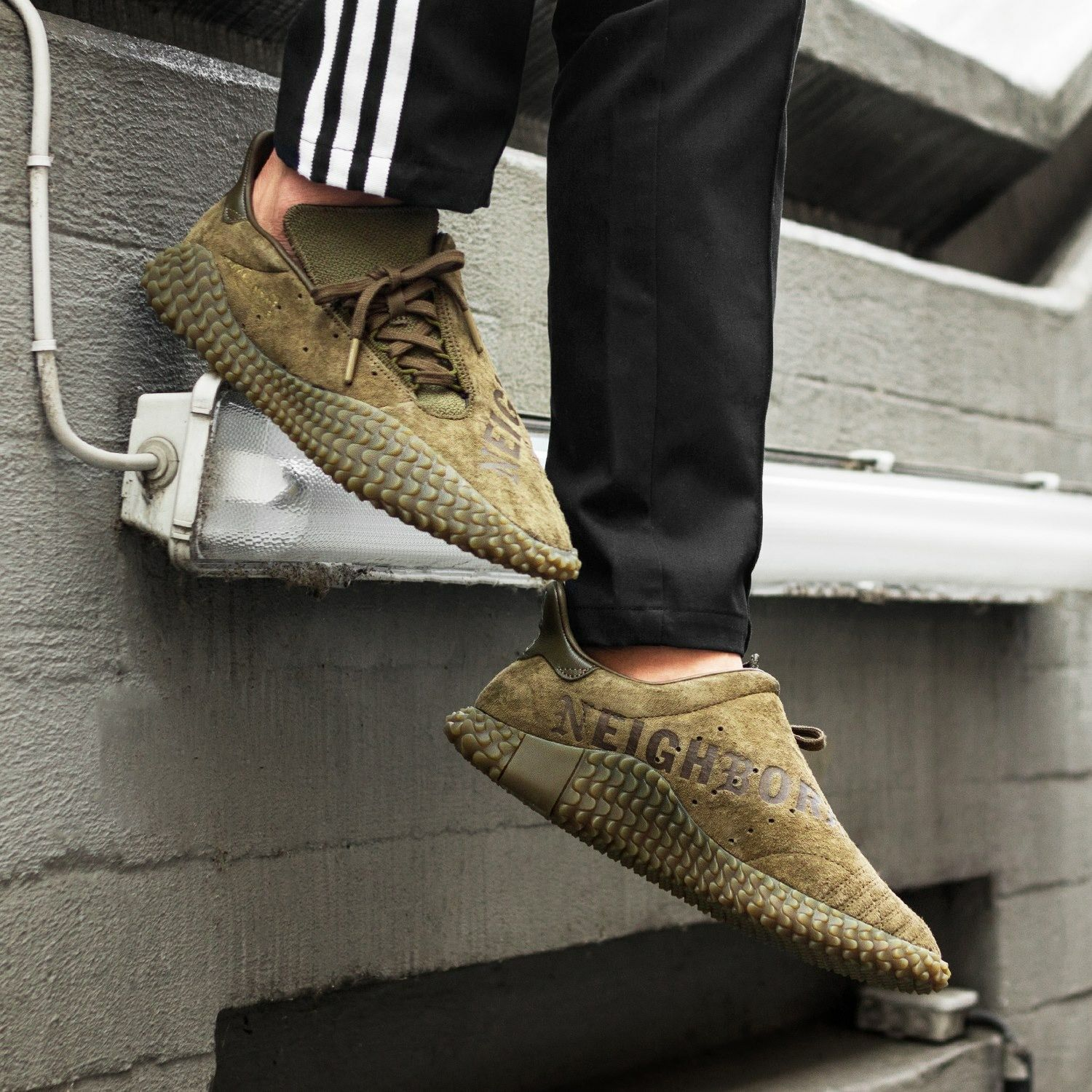 8bb277a3597bdf NEIGHBORHOOD x adidas Originals Kamanda