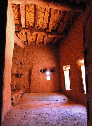 Buildings Jesus Knew Interior Of A Mud Brick House With