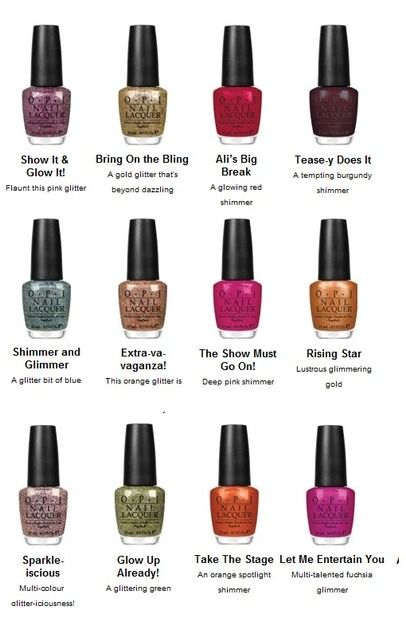 Opi Burlesque Collection Opi Nail Colors Classy Nail Designs Classy Nails