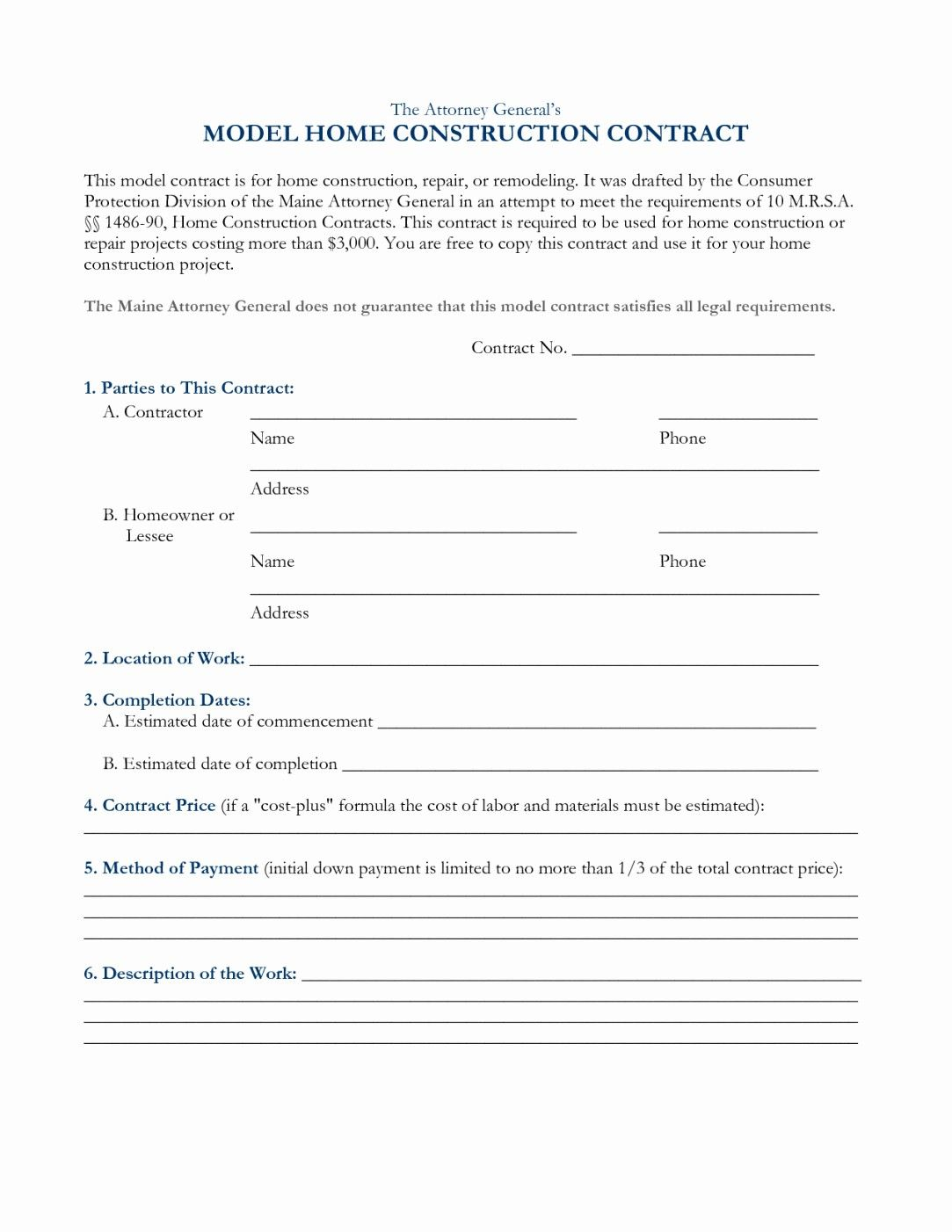 50 Awesome Free Residential Roofing Contract Template in ...