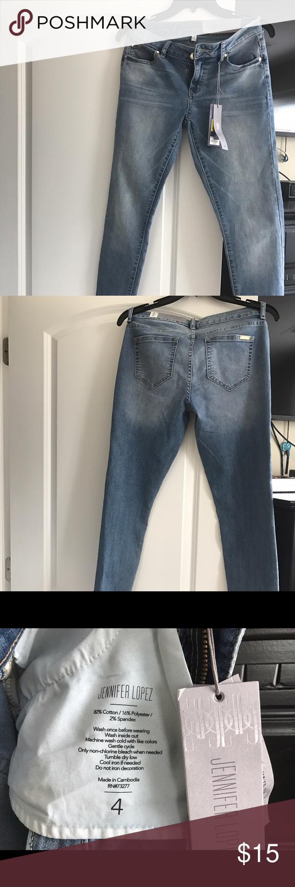 Jennifer Lopez Jeans Jennifer Lopez, mid rise, skinny jeans Jennifer Lopez Jeans Skinny