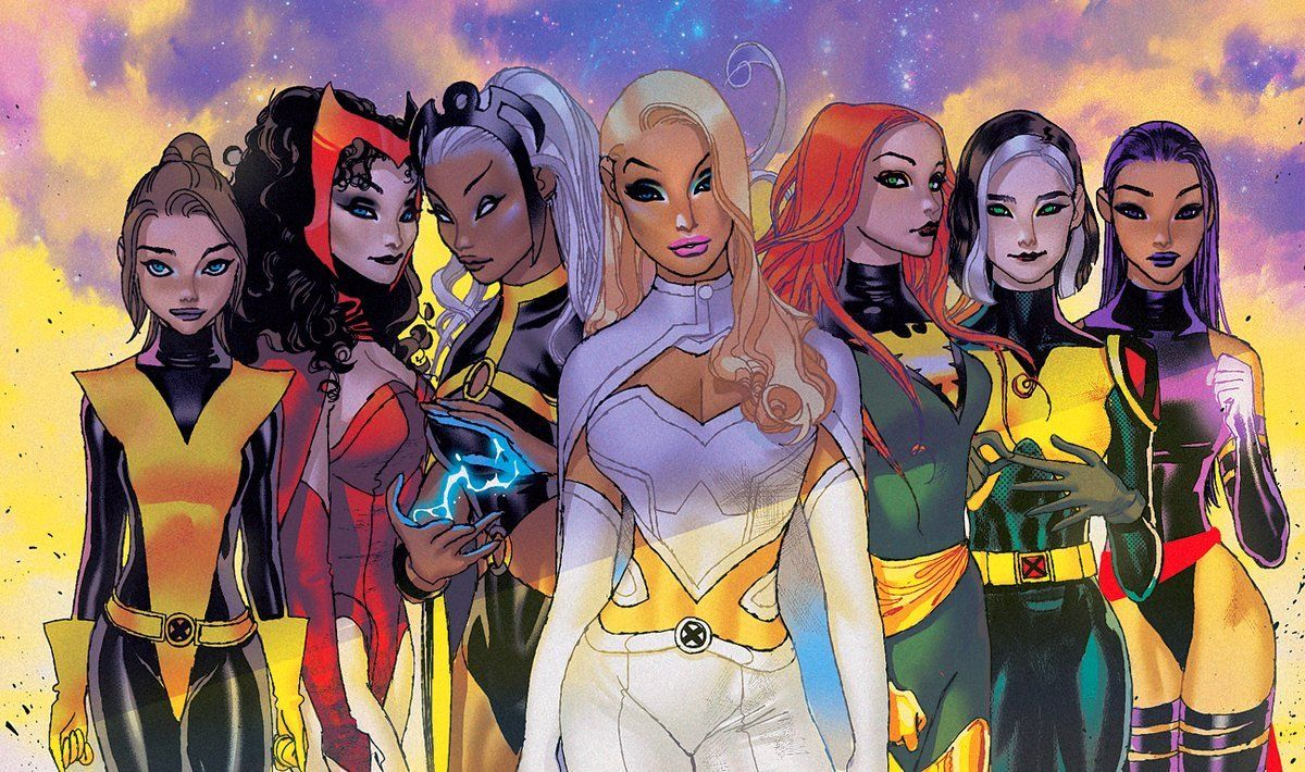 Mutant And Proud X Women By Lukas Werneck In 2020 Marvel Heroines Kitty Pryde Girls Characters