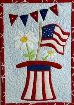 cookout wall hanging quilt - Google Search | Niche Ideas ... : fourth of july quilt pattern - Adamdwight.com