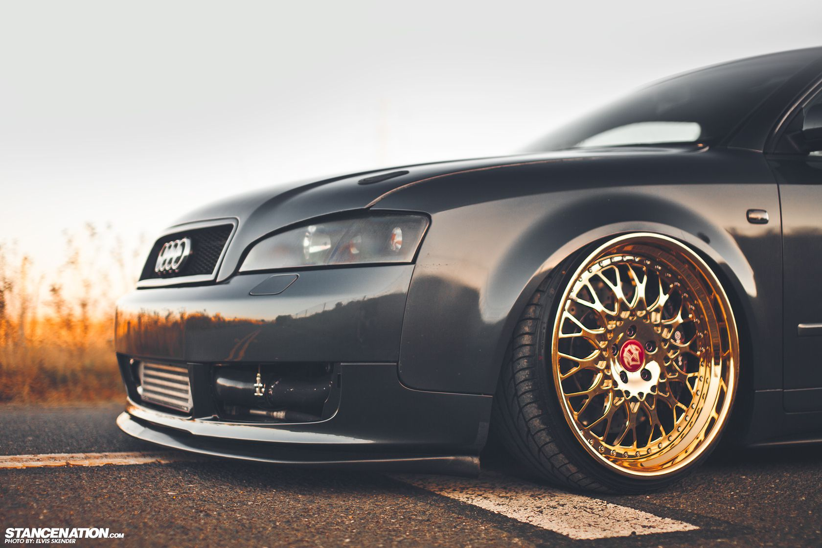 Gold status josh s fitted audi a4 stance nation form