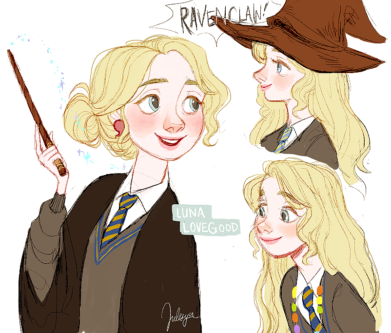 Luna Lovegood Tumblr Harry Potter Fan Art Harry Potter Art Harry Potter Drawings