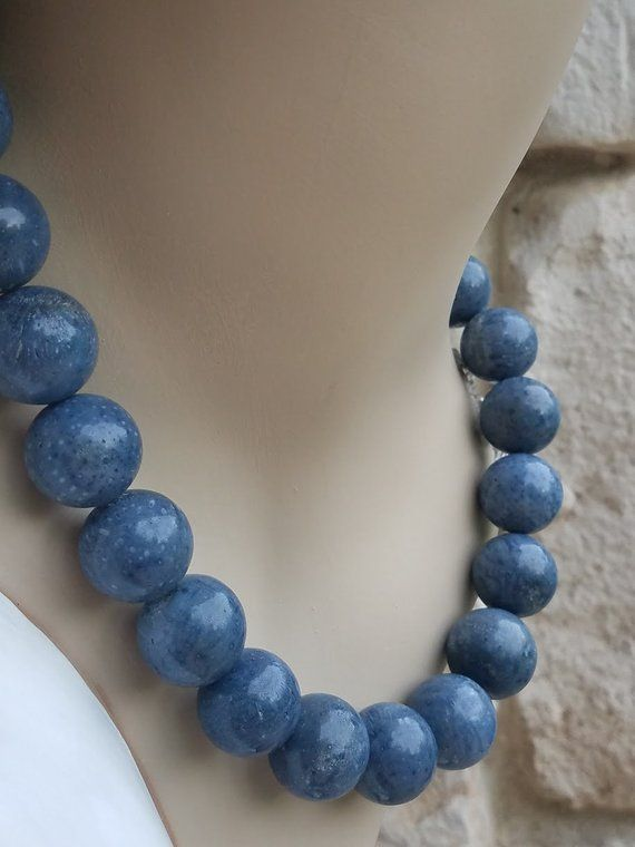 """Long 100/"""" Necklace Jade 8mm Round Gemstone Beads Knotted Each Beads AAA"""