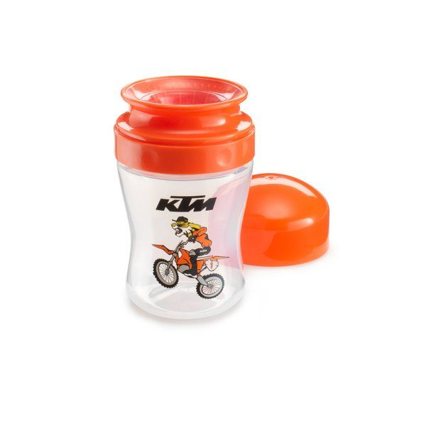 Baby Radical Feeder KTM #3PW210023400  BABY RADICAL FEEDER  SKU Code: 3PW210023400   * Training cup with protection cap  * BPA-free  * Contents: 260 ml  * MATERIAL:  * 100% PVC