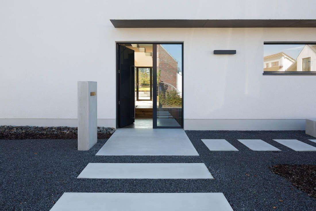 eingangsbereich des einfamilienhauses in unna architektur schamp schmal er cz pinterest. Black Bedroom Furniture Sets. Home Design Ideas