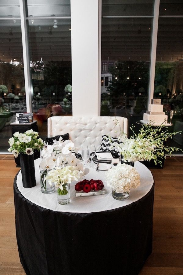 Modern Black and White Museum Wedding | www.aisleperfect.com | Photo by Ross Oscar Knight #wedding