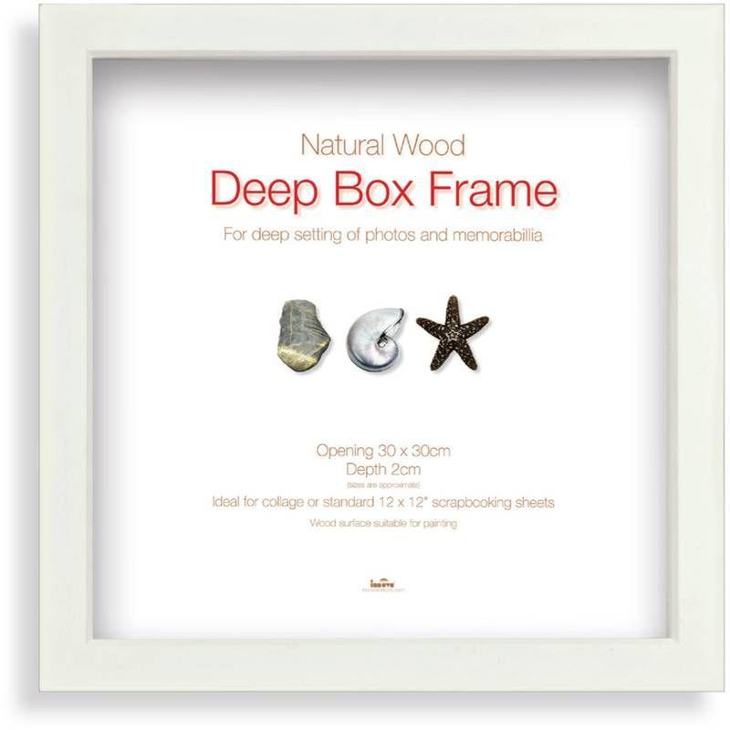 White Box Frame 30 x 30 cm | Pinterest | White box frame and White box