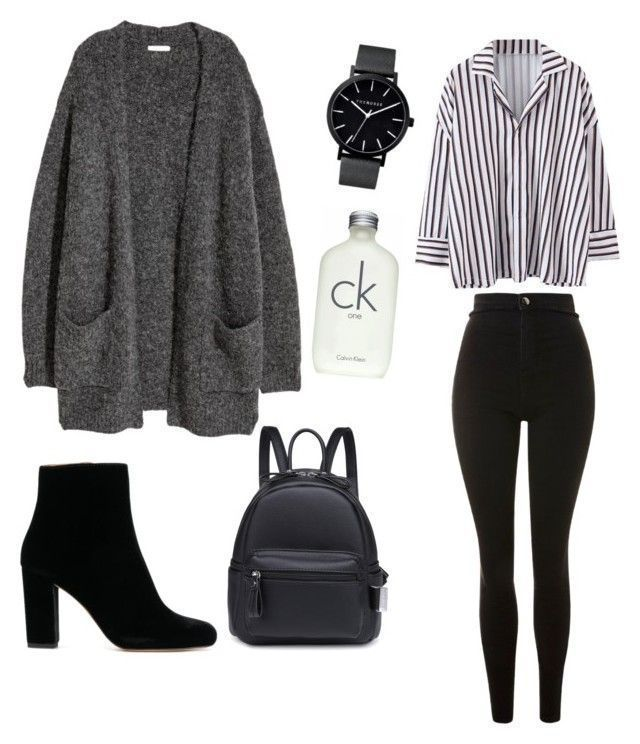 Untitled #1 by oriquinteros on Polyvore featuring Topshop and Calvin Klein