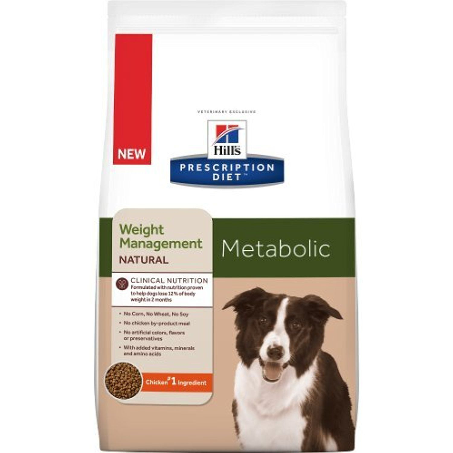 Hill S Prescription Diet Metabolic Natural Canine Dry Dog Food 8