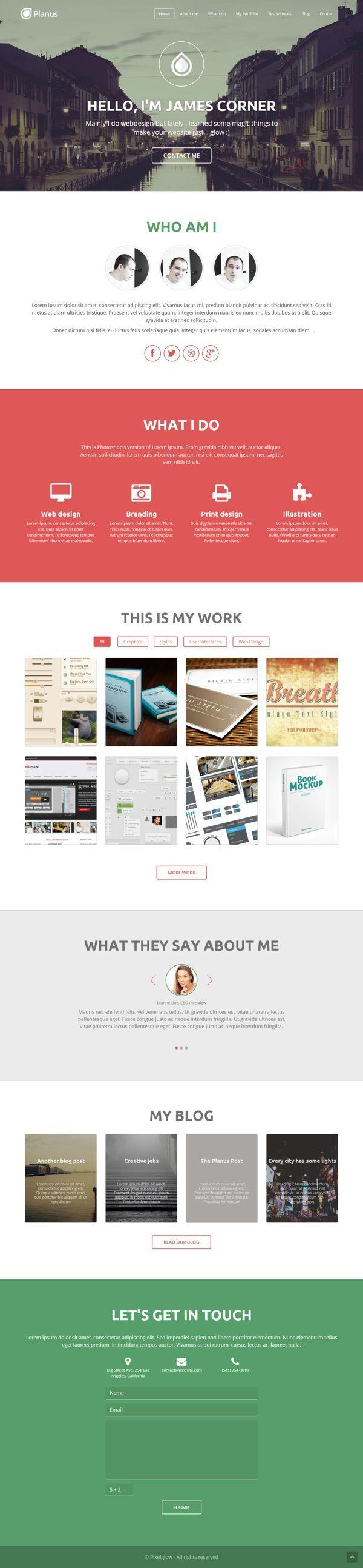 Check Out Some Website Designs Personal Portfolio Examples Free Online Portfolio Websites P Portfolio Web Design Web Development Design Web Layout Design