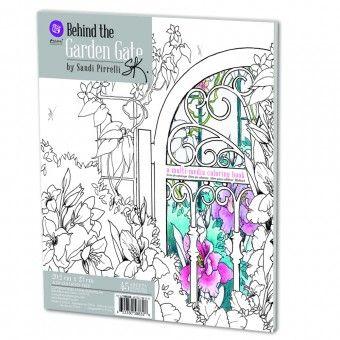 BEHIND THE GARDEN GATE MULTIMEDIA COLORING BOOK