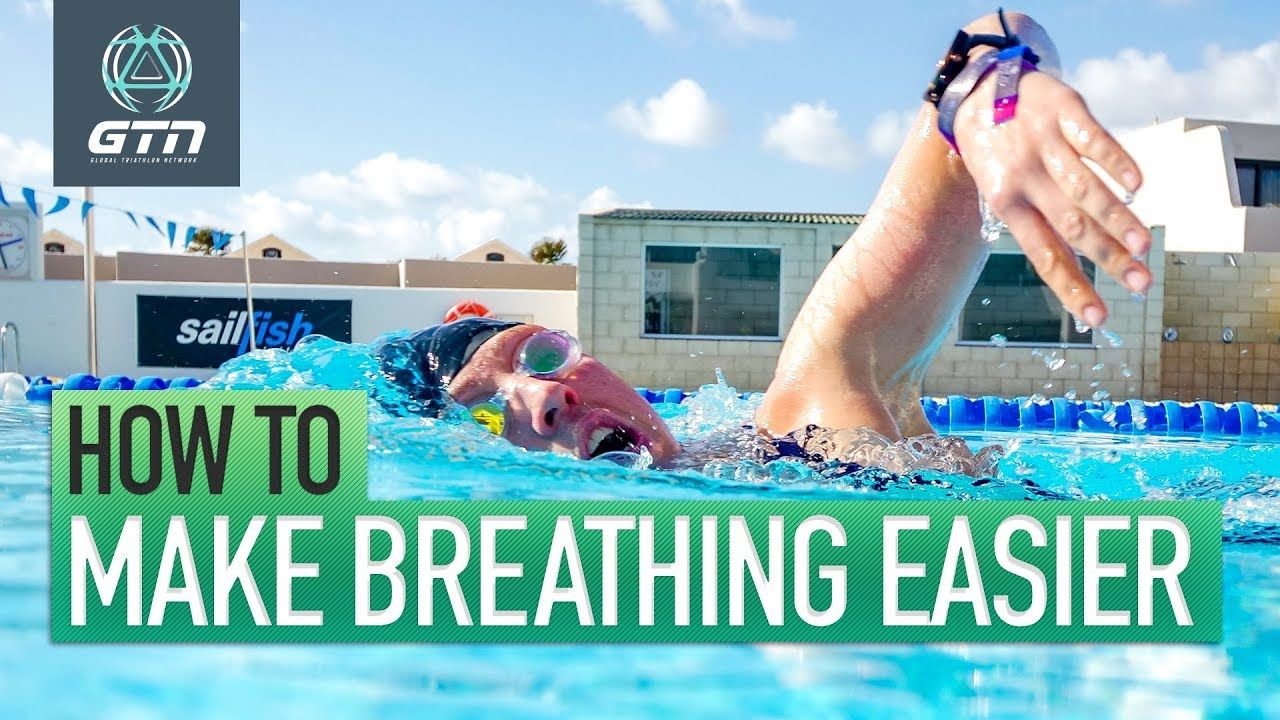 How to make swim breathing easier freestyle swimming