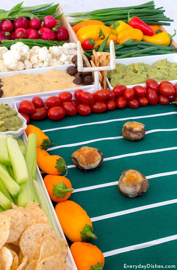 Game day vegetable football stadium recipe football stadiums game day vegetable football stadium forumfinder Choice Image