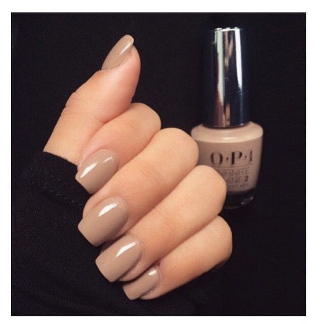 This nude nail color tho #OPI in TANACIOUS SPIRIT | Nails ...