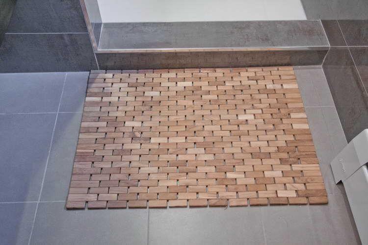 wooden mat for shower | Teak shower floor, Teak bath