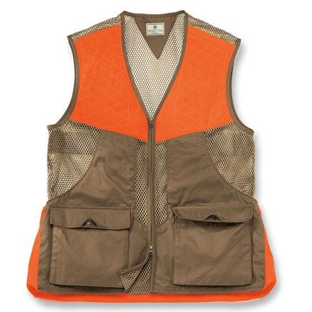 4bb31864af11f Beretta Mesh Hunting Vest - Certain States require Blaze Orange Safety Vests  but when hunting with a shotgun you want shell pockets.