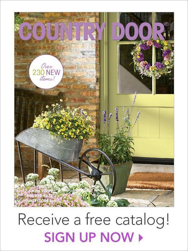 Free Country Door Catalog #freecatalog #countrydoor #decoratingtips #decor #freebie #freestuff