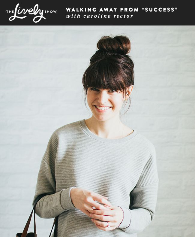 The Lively Show With Caroline Rector, Minimalist Fashion Blogger