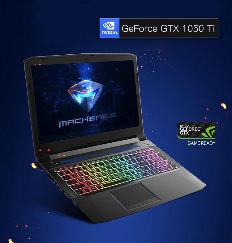 Machenike T58 Tix Gaming Laptop 15 6 Fhd Screen Laptops I7 7700hq Gtx1050ti 4g Video Ram Rgb Backlight Keyboard 4g Ram 1tb Hdd Gaming Laptops
