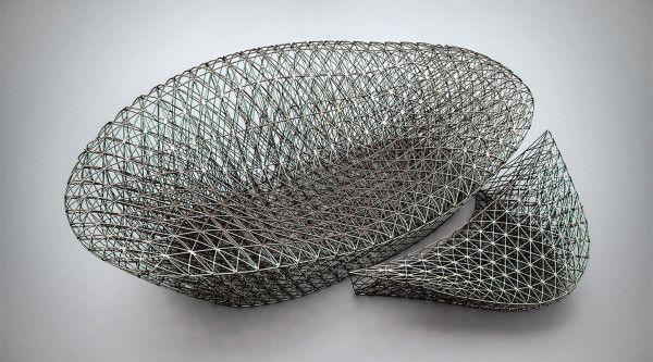 A Complex 3d Printed Sofa By Janne Kyttanen Design Milk Printed Sofa Modern Rustic Design Sofa Design