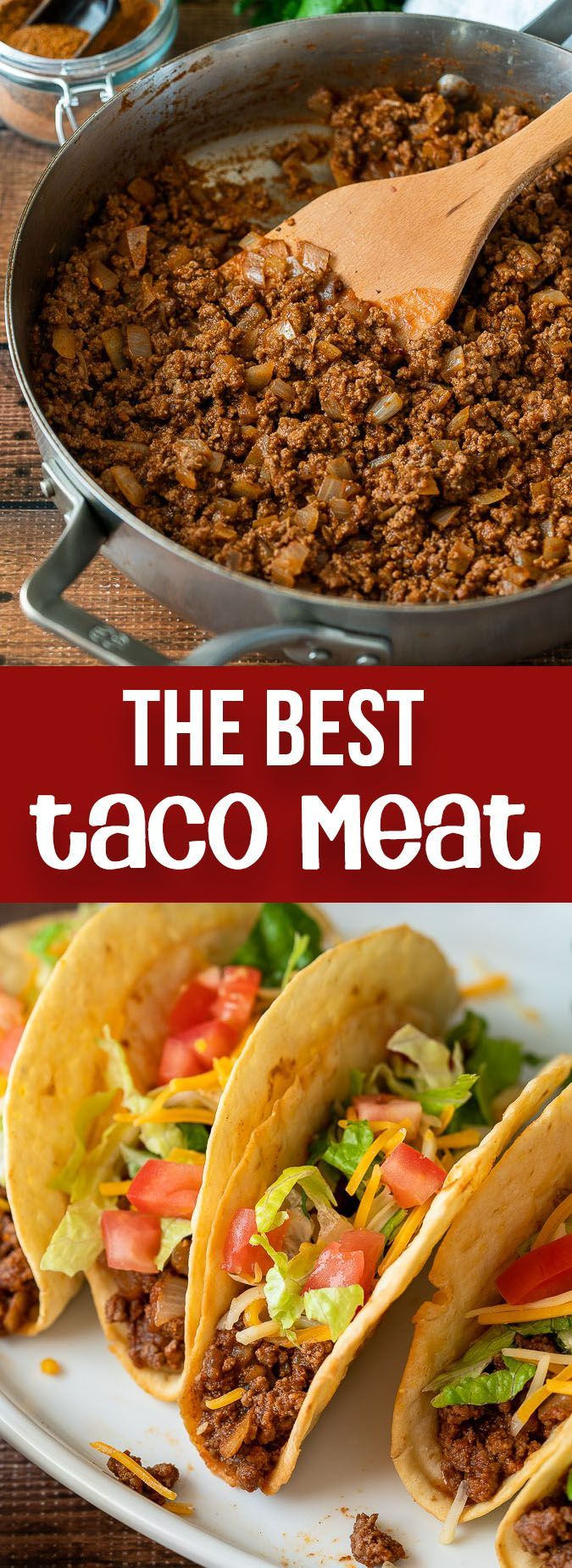 Ground Beef Tacos Recipe In 2020 Taco Recipes Ground Beef Beef Tacos Recipes Ground Beef Tacos