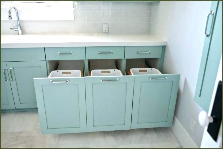 Laundry Bin Cabinets Google Search Small Laundry Room