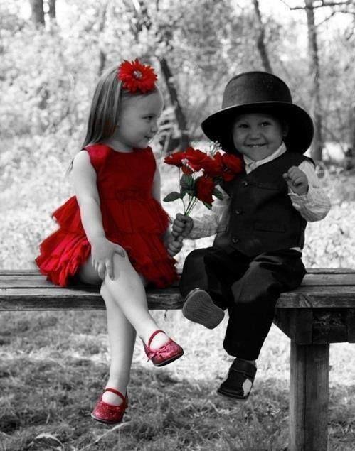 des belle photos artistique en noir & blanc avec une touche de couleur