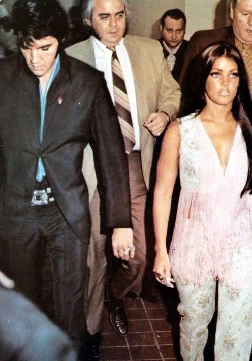 Elvis Priscilla In Vegas Elvis And Priscilla Elvis Presley