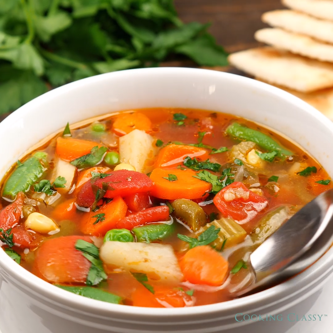 BEST VEGETABLE SOUP