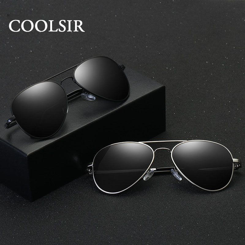 Coolsir 2017 New Brand Hd Polarized Sunglasses Men Classic