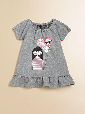 2f53987bfc9 Little Marc Jacobs Infant's Miss Marc Ruffled Dress   Girls   Marc ...