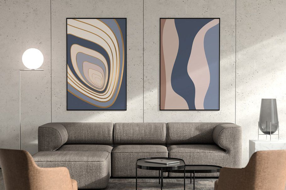Organic Abstract Shapes Scintilla In 2020 Abstract Shapes Abstract Poster Abstract