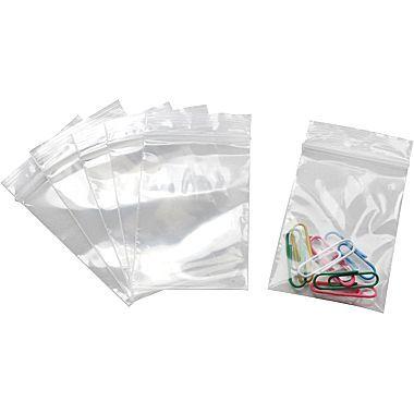 """Staples 2"""" x 3"""" Reclosable Poly Bag, 2.0 Mil, 1000/Case"""