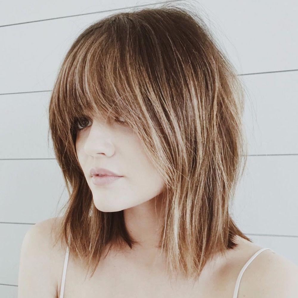 14 Celebrity Haircuts We So Want To Copy This Fall Bangs With Medium Hair Medium Hair Styles Short Hair With Bangs