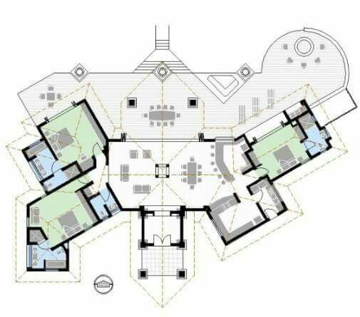 AutoCAD Files Of House Plan