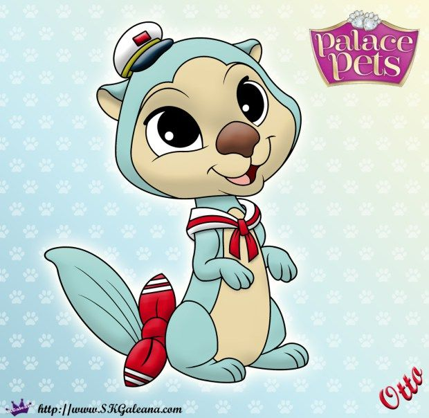 Printable Princess Palace Pets Coloring Page of Otto | Princess ...