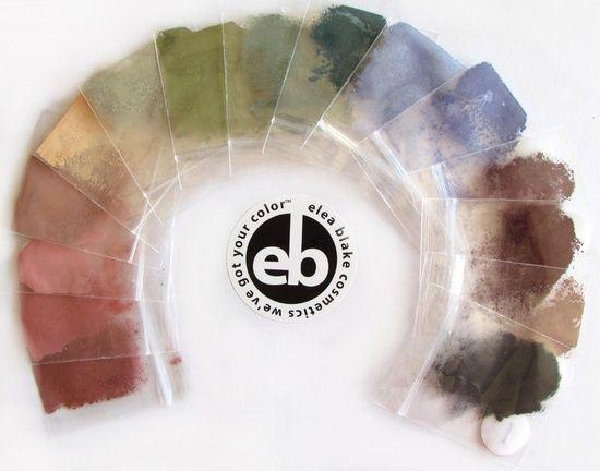 Soft Autumn Lipstick | Soft Autumn / The Elea Blake Cosmetics Soft Autumn Eye shadow Rainbow