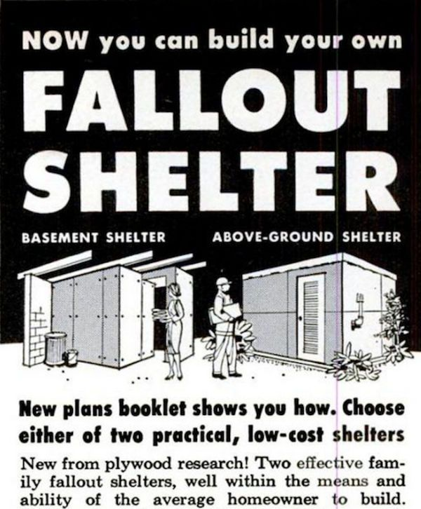 1950s And 1960s Nuclear Fallout Shelter
