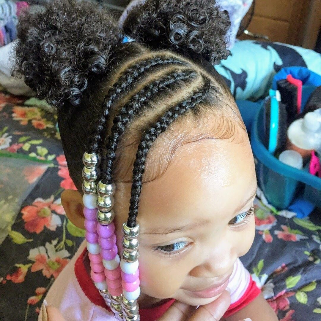 Children S Natural Hair Lil Girl Hairstyles Kids Hairstyles Natural Hairstyles For Kids