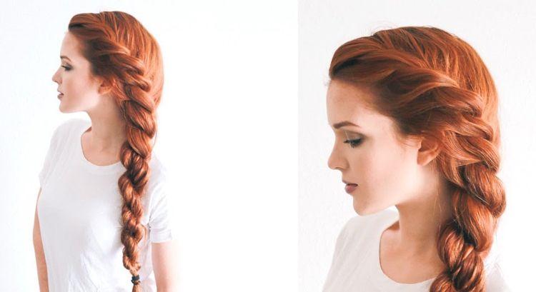 Kordelzopf Seitlich Selber Machen Lange Haare Frisuren Hair Seitliche Frisuren Tracht Frisur Flechtfrisuren