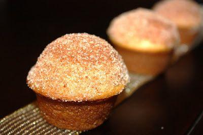 Delightful Bitefuls: Sugar Donut Mini Muffins