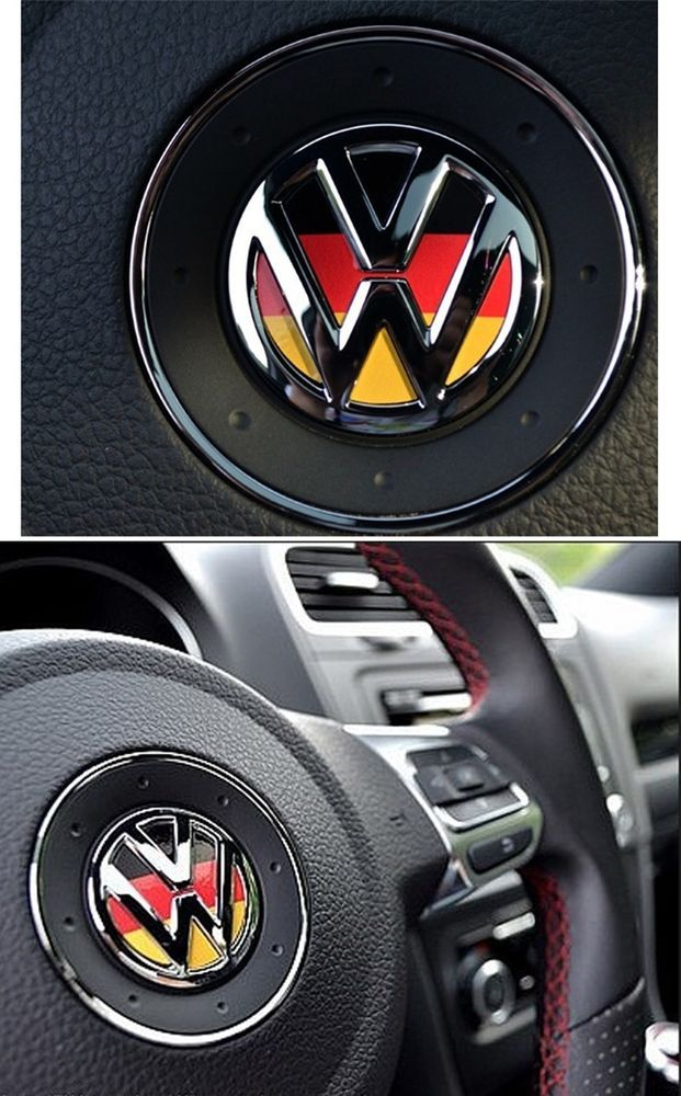 Volkswagen Vw Logo Germany Steering Wheel Decal Car For