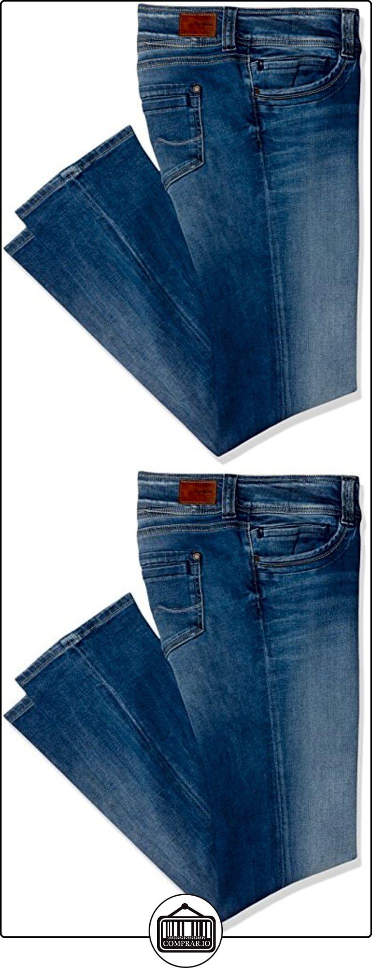 Pepe Jeans Gen, Jeans Mujer, Azul (Denim), 34(UK)  ✿ Vaqueros ✿