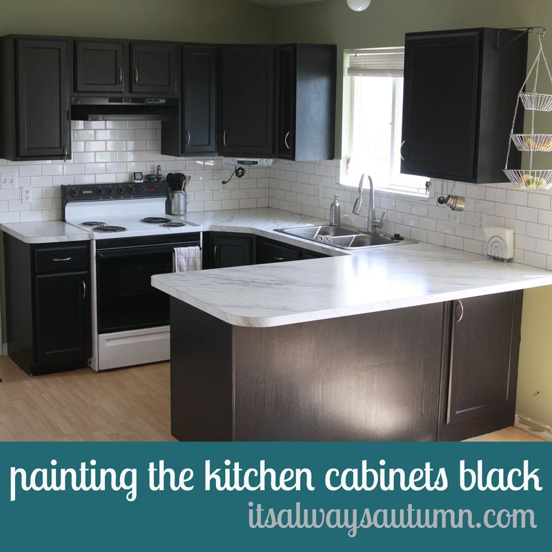 Tips On Painting Kitchen Cabinets: Rustoleum Cabinet Transformations Review, Before + After
