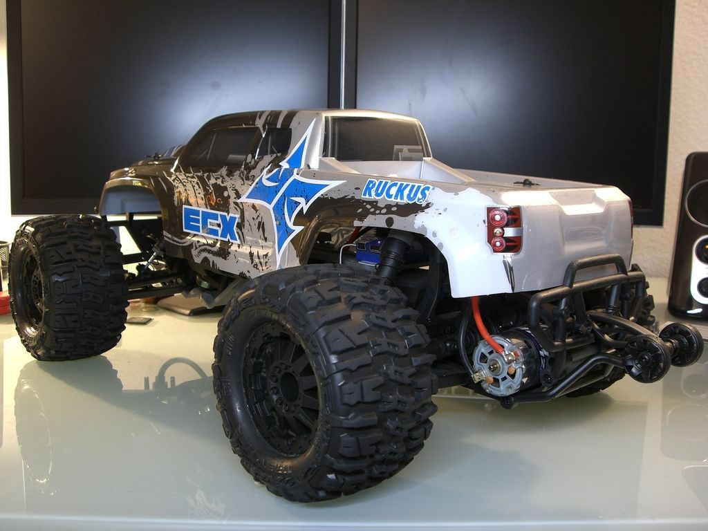 Build Complete: ECX 1/10 RWD Ruckus - ECX RC Forum @ URC